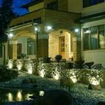 освещение участка загородного дома