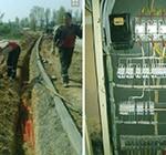 монтаж наружных электрических сетей