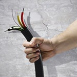 демонтаж оборудования проводки