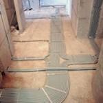 электропроводка по полу