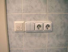 ремонт электрики в ванной
