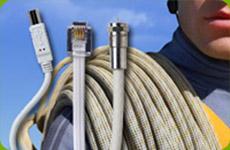 прокладка антенного кабеля в частном доме