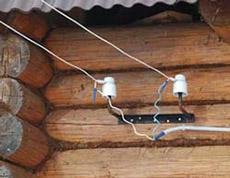 ввод электричества в частный дом