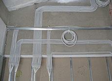 Прокладка кабеля в доме