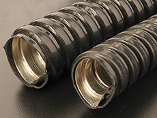 прокладка кабеля в металлорукаве