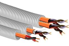 Протяжка кабеля в трубе