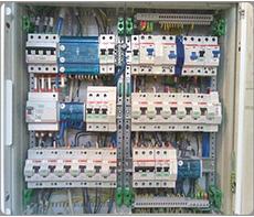 Установка электрических щитков