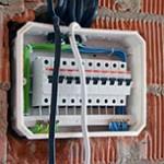 Установка щитка электроэнергии на даче