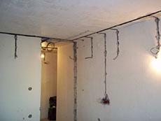 Замена электрики в квартире
