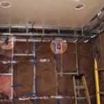 Прокладка электрики в каркасном доме